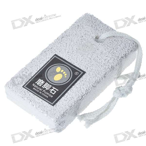 Rectangular Shaped Foot Callouses Removal Natural Pumice Stone