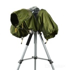 CADEN Waterpoof Rainproof Nylon Cover for DSLR Camera - Army Green (L)