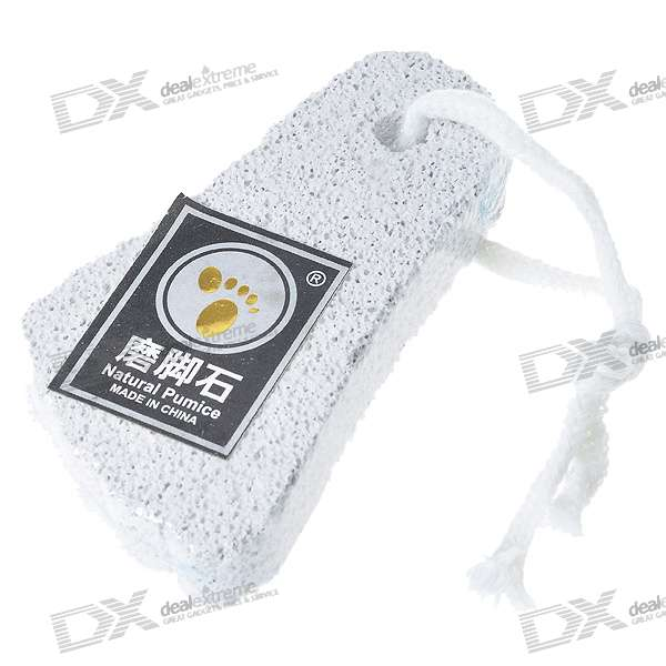 Foot Shaped Foot Callouses Removal Natural Pumice Stone (Small)