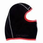 WOSAWE BC323 Ciclismo lã quente Máscara Facial / Hat - Black + Red