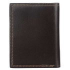 DBLO Men's Casual Short PU Leather Wallet Purse - Coffee