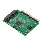"MSATA na 1,8 ""2,5"" IDE Adapter Board Card - Green + Black"