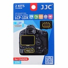 JJC LCP-1DX HD Kamera PET Displayschutzfolie für Canon 1DX-transparent