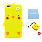 Cartoon Protective Silicone Case for IPHONE 6 PLUS / 6S PLUS - Yellow