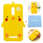 Cartoon Protective Silicone Case for Redmi Note 3 - York Yellow