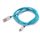 Universal Micro USB 2.0 Data Sync & Charging Cable - Blue (90cm)