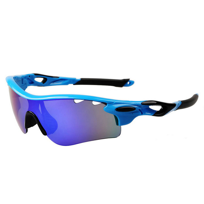 900cecc62f Outdoor Polarized Blue REVO Lens Sunglasses Goggles - Blue + Black - Free  Shipping - DealExtreme