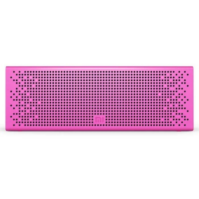 Xiaomi Bluetooth Metal Speaker Support Micro SD for IPHONE - Dark Pink