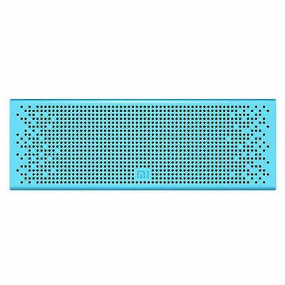 Xiaomi Bluetooth Metal Speaker Support Micro SD for IPHONE - Blue