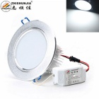 ZHISHUNJIA 18W White LED Ceiling Light - Silver (AC 85~265V)