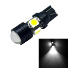 YouOKLight T10 7W LED Car Bulbs - Black (12V / 10PCS)