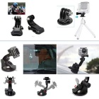 50-in-1 Professional Kit Accessories Bundle for Gopro HD Hero - Black