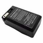 US Plug Battery Battery Charger + EU Plug Adapter para AZ13-1-Preto