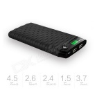 Cager S20 10000mAh Lithium Polymer Battery Power Bank - Black