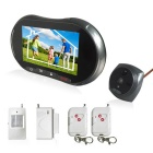 "Danmini 5.0"" LCD Digital Door Peep Video Camera Monitor - Black + Grey"
