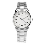 WESTCHI W6105G/BE-4T1 Men's Waterproof Quartz Watch - Silver + White