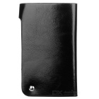 Casual Leather 30 Card Holder Organizer Manager - Preto