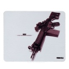 MAIKOU 180*220mm MC51 Gun Pattern Mouse Pad Mat - Brown + Black