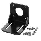 Model DIY Metallic Fixing Frame for 42 Step Motor - Black