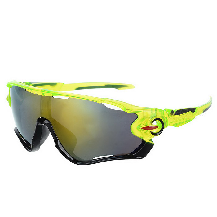 Cycling UV400 Protection Sunglasses Goggles - Green