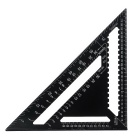 "CJ-5035A Metallic 12"" Set Square - Black"