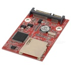SD to SATA HHD Hard Disk Drive Adapter - Red