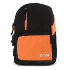 CADEN D5 Casual Fashion Shoulder Bag Camera Bag - Black + Orange