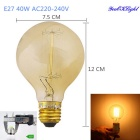 YouOKLight E27 40W Tungsten Bulb - Transparent Yellow (AC 220~240V)