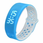 W9 Smart Band Wrist Sport Bracelet Pedometer Activity Tracker - Blue