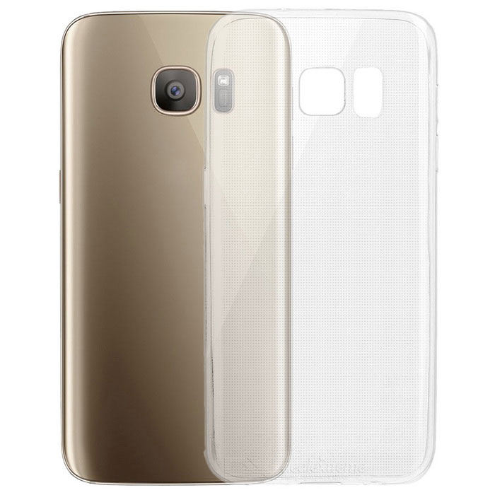 Ultra-Thin Protective Back Case for Samsung Galaxy S7 - TransparentTPU Cases<br>Form ColorTransparentQuantity1 DX.PCM.Model.AttributeModel.UnitMaterialTPUShade Of ColorTransparentCompatible ModelsSamsung Galaxy S7DesignSolid Color,TransparentStyleBack CasesPacking List1 x Case<br>