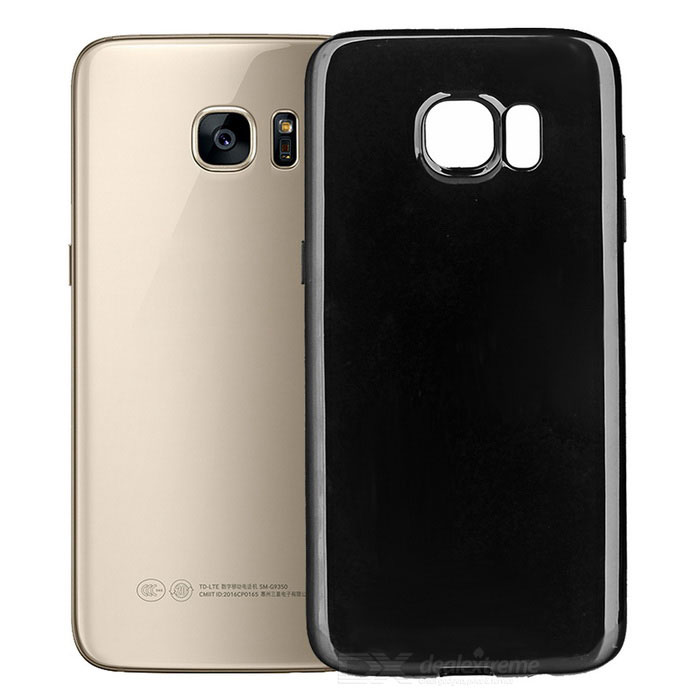 Ultra-Thin Protective Back Case for Samsung Galaxy S7 - Black