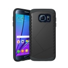 Shockproof Protective TPU Back Case for Samsung Galaxy S7 - Black