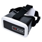 VR PARK V2 3D Glasses Virtual Reality Headset - White + Black