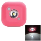 Human Body Infrared Sensing Light Control LED White Aisle Lamp - Pink