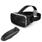 VR PARK V3 Virtual Reality 3D Video Brille + Buetooth Gamepad - Schwarz