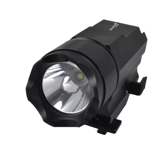 RichFire SF-803 CREE XPG-R5 LED Tactical Flashlight for Gun - Black (1*CR123A)Form  ColorBlackModelSF-803MaterialAluminum alloyQuantity1 DX.PCM.Model.AttributeModel.UnitGun Type20mm gun railMount TypeWeaverLaser Wavelength/Laser ColorOthers,N/AOther FeaturesReverse clicky; Right to left toggle switchPacking List1 x Flashlight1 x CR123A battery<br>