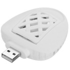 Radiationless USB Electronic Mosquito Killer w/ Mosquito Pads - White