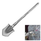 Multifunctional Folding Shovel Spade Tool Kit - Silvery Grey