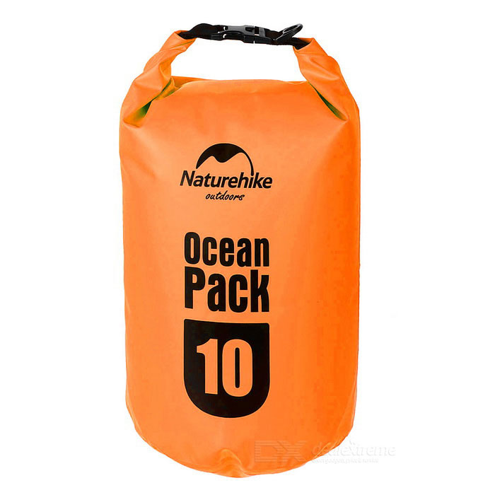 NatureHike Outdoor Sports Rafting Waterproof Bag - Orange (10L)