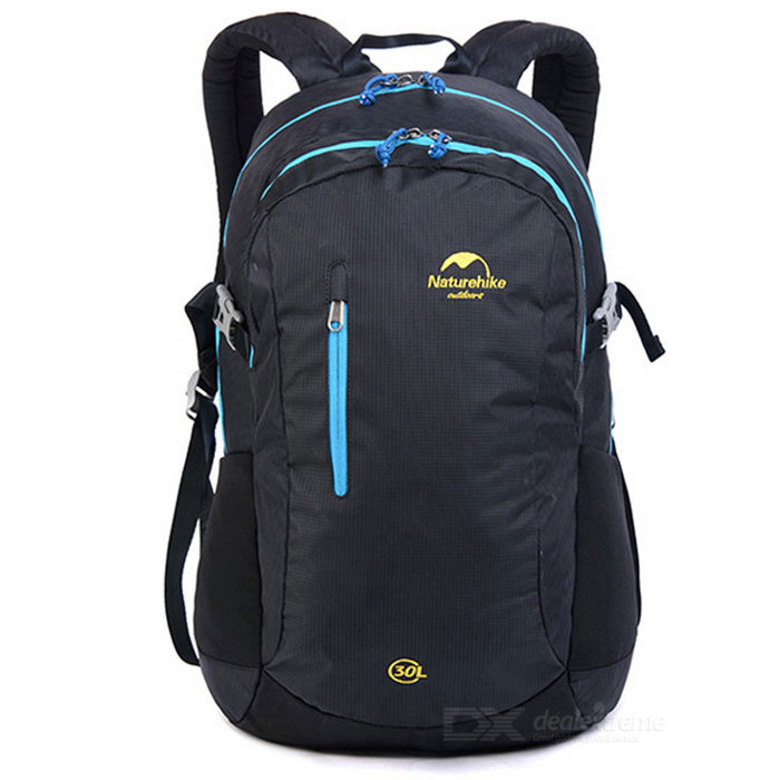 naturehike outdoor hiking & camping daypack rugzak - zwart (30L)