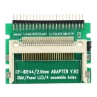 "2.5"" IDE to CF 44Pin Adapter Card - Green + White + Multicolor"