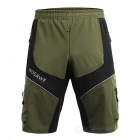 WOSAWE Summer Waterproof Cycling Sports Shorts - Army Green (XL)