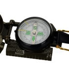 Outdoor High Precision Compass w/ Measuring Scale - Army Green
