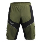 WOSAWE Summer Waterproof Cycling Sports Shorts - Army Green (L)