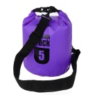 NatureHike Outdoor Sports Rafting Waterproof Bag - Purple (5L)