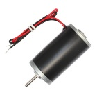 DC 12V 8000rpm Strong Magnetic High Torque Tubular Motor - Black