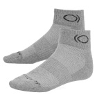 CAXA Men'sCasual Antibacterial Ankle Sports Socks - Grey (Pair)