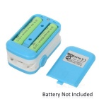 "1.1"" Pulse Oximeter w/ Heart Rate Monitor - Blue + White (2*AAA)"
