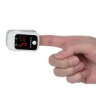 "1.1"" Pulse Oximeter w/ Heart Rate Monitor - Grey + White (2*AAA)"