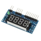 "4-Digit Common Anode 0.36"" Digital Display Module for Arduino - Blue"